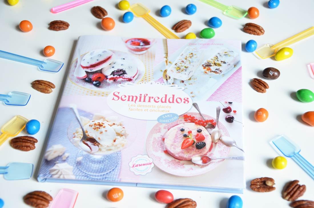 Semifreddos aux M&Ms et noix de pécan
