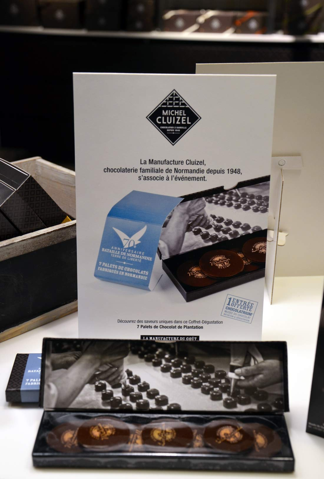 Chocolats Michel Cluizel pour le D-Day