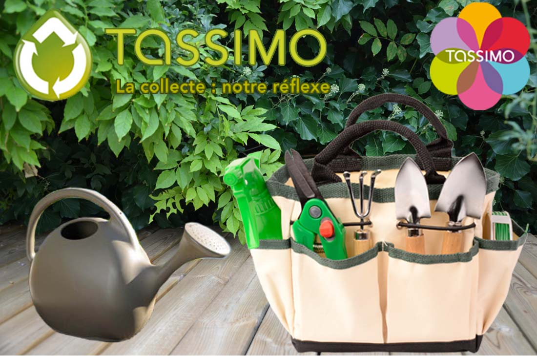 Recyclage tassimo : un lot de jardinage à gagner