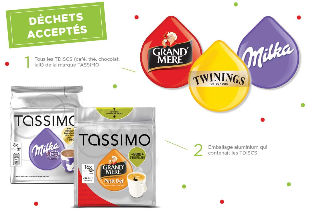 Recyclage tassimo :Terracycle recycle les capsules Tassimo
