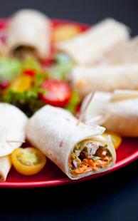 kebab de lapin en bouchées