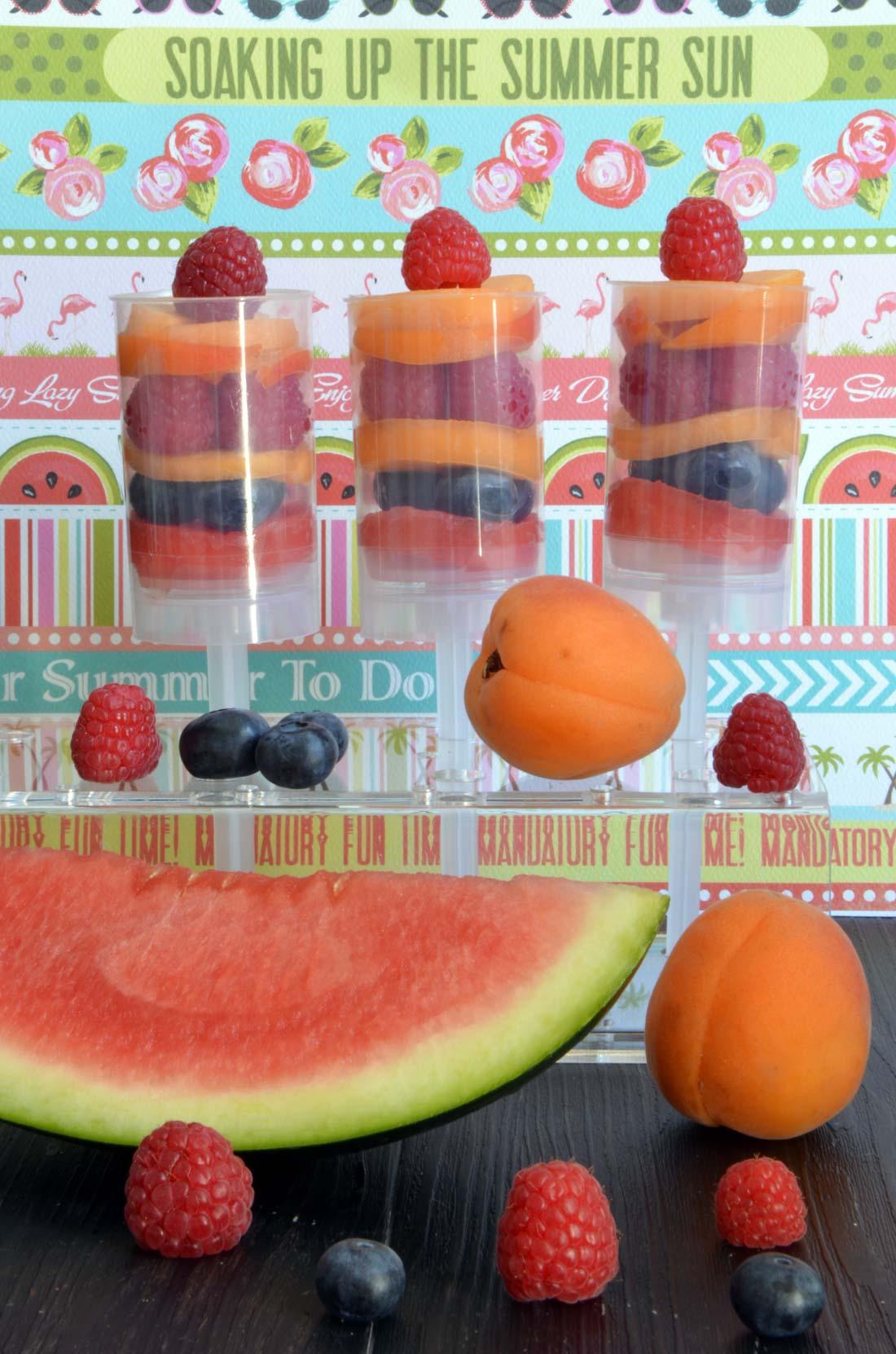 push pops fruités et vitaminés