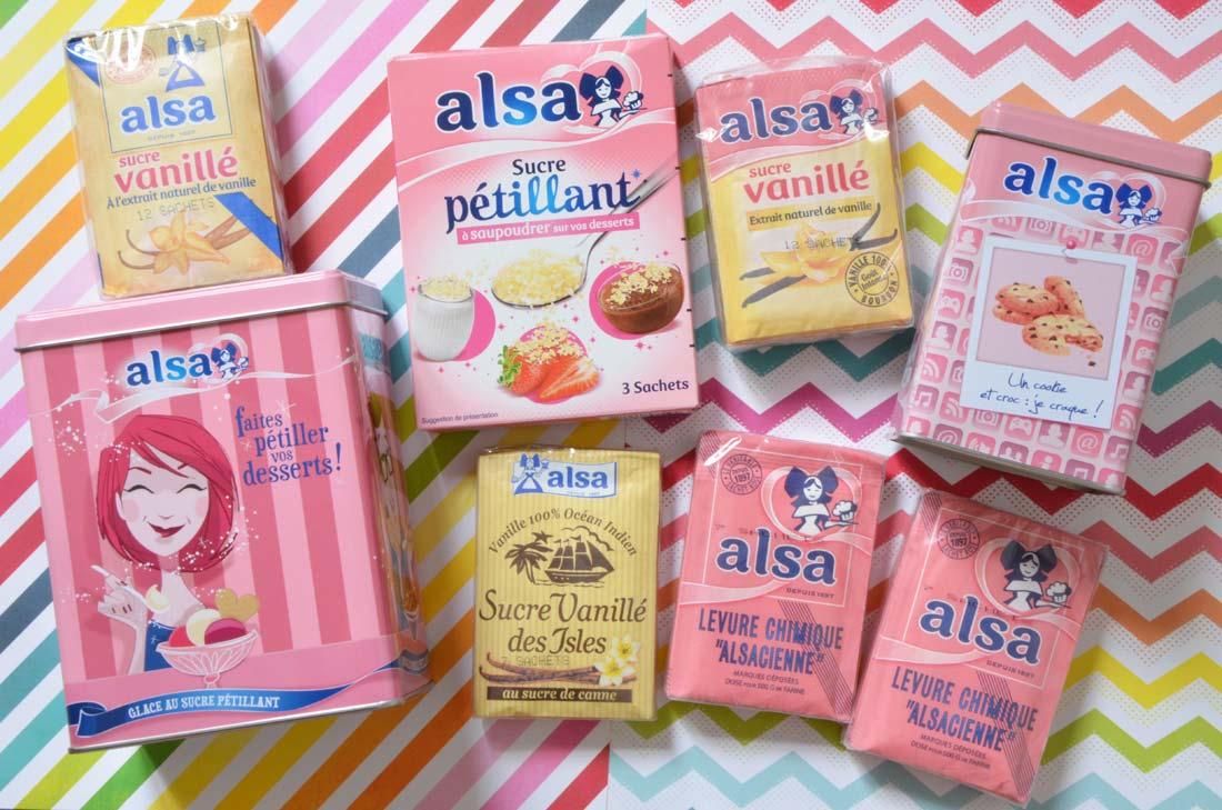 les produits Alsa à gagner dans les boîtes Collector