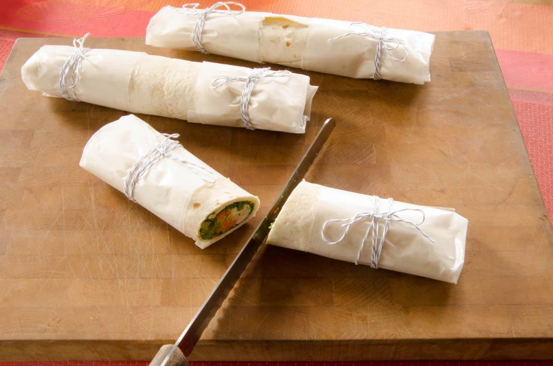 Wraps de poulet pique-nique Herbalist