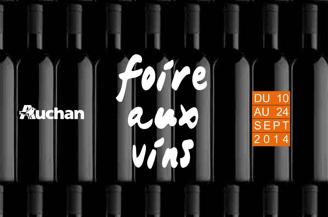 Auchan Foire aux vins 2014