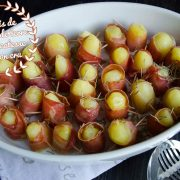 makis pommes de terre délicatesse et jambon cru