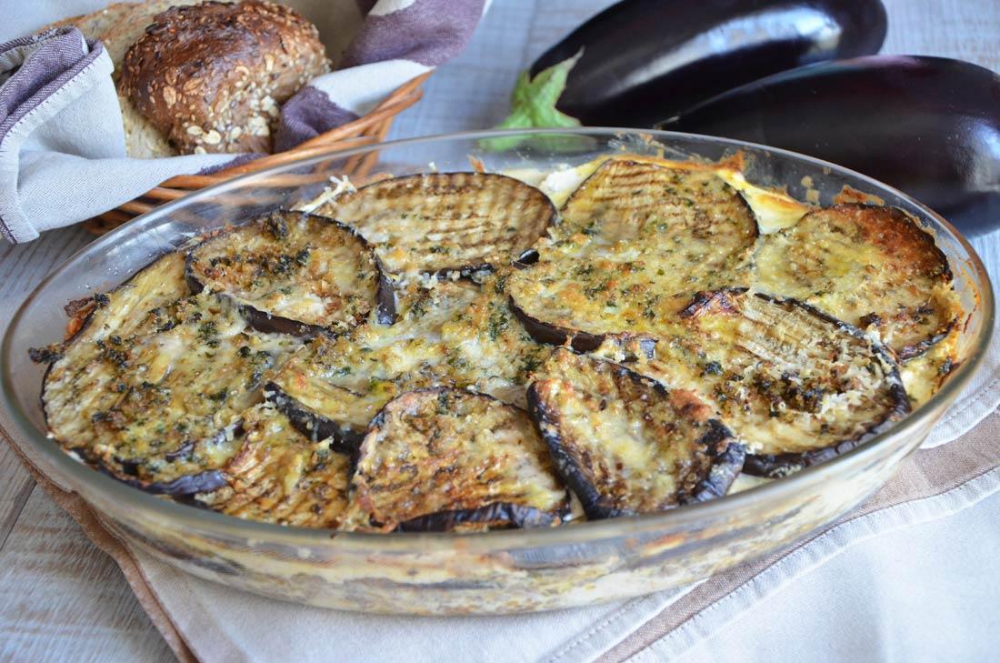 Aubergines au parmesan ou parmigiana di melenzane
