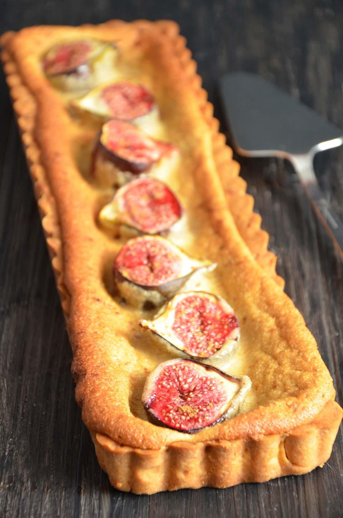 délicieuse tarte aux figues maison