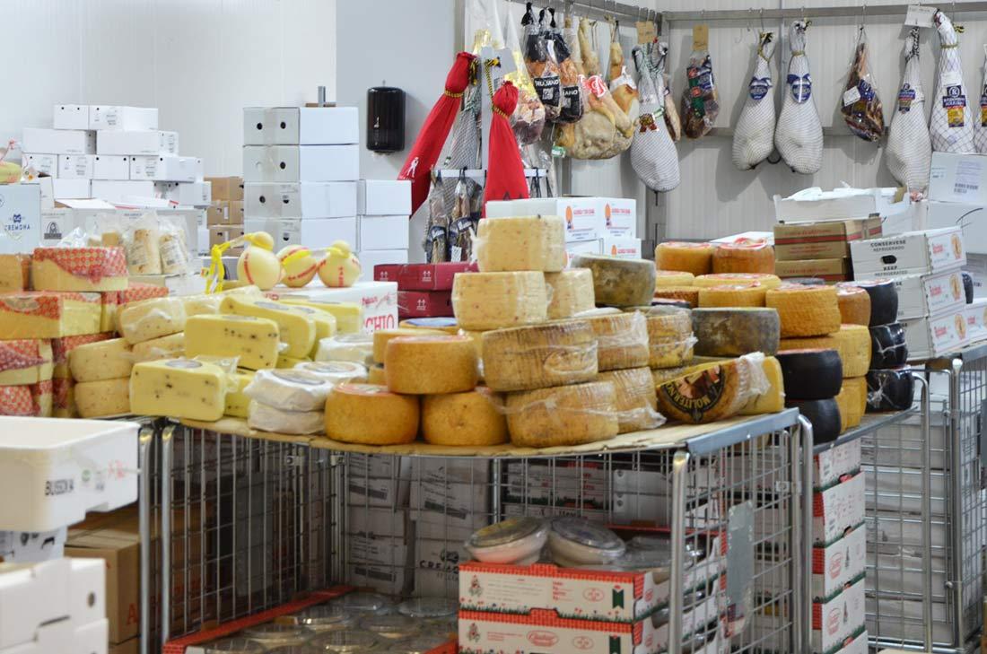Pavillon du fromage Rungis