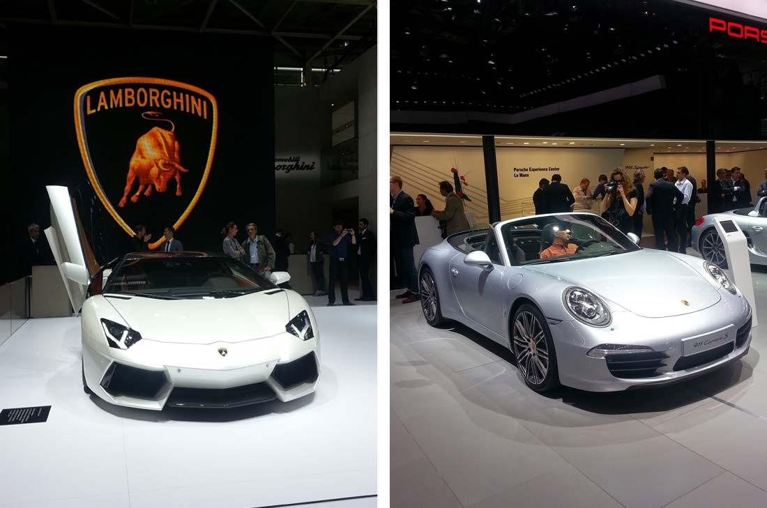 Balade au Mondial de l'Auto 2014