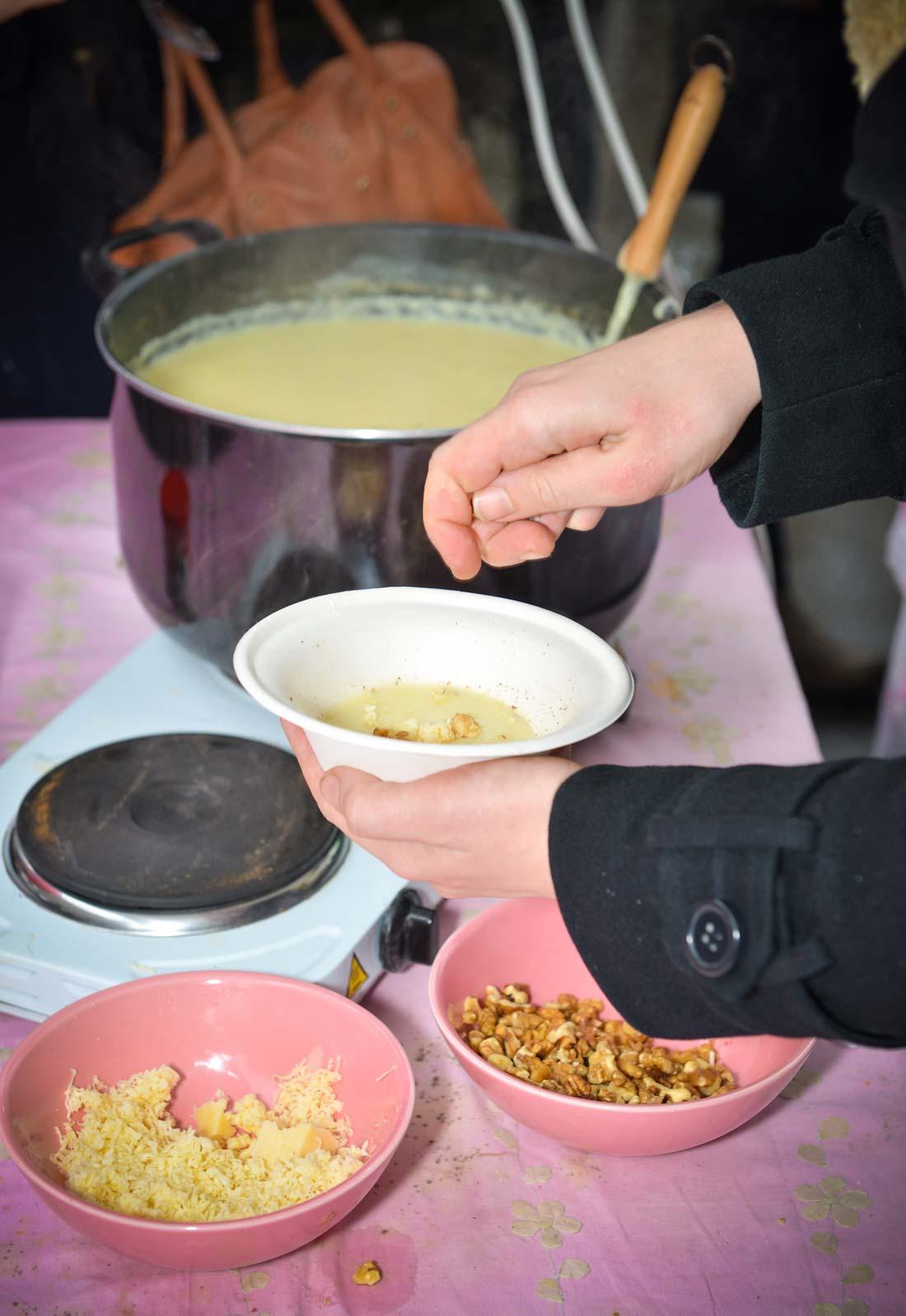 en cours de préparation chez amoureusement soupe en 2013