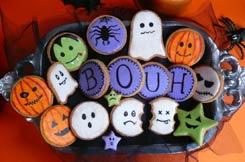 les sablés Halloween