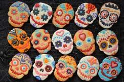 Biscuits dia de la muertos