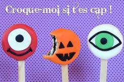 les biscuits Oréo déguisés en monstres