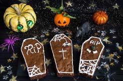 Recettes Halloween : brownies cercueil