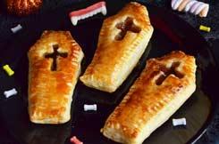 cercueils facon Pop tarts pour Halloween