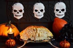 cervelle de Dracula en brioche pour Halloween