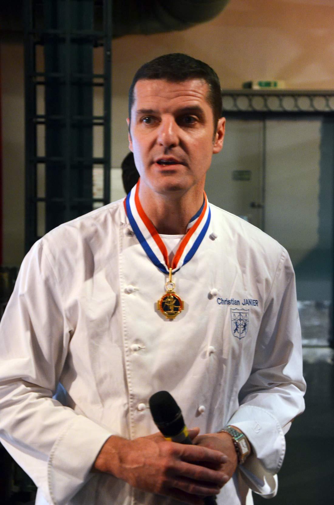 Christian Janier MOF fromager en 2000