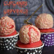 cupcakes cerveaux guimauve