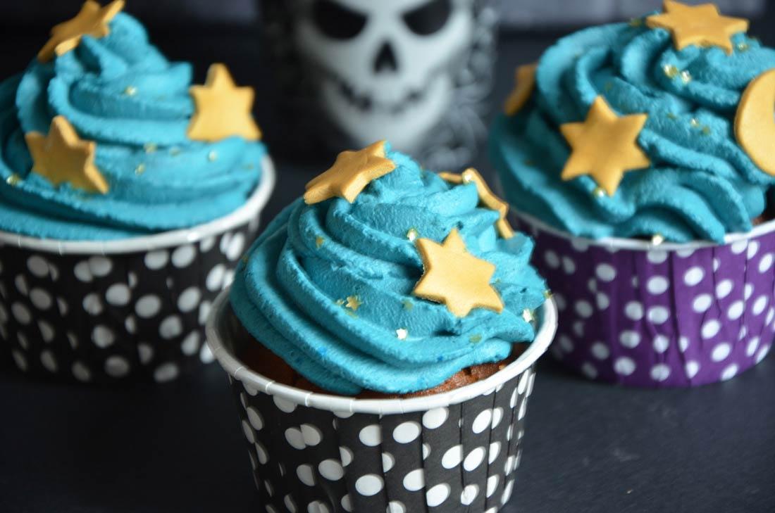 cupcakes magiques d'Halloween