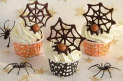 Recettes Halloween : les cupcakes Halloween au potiron