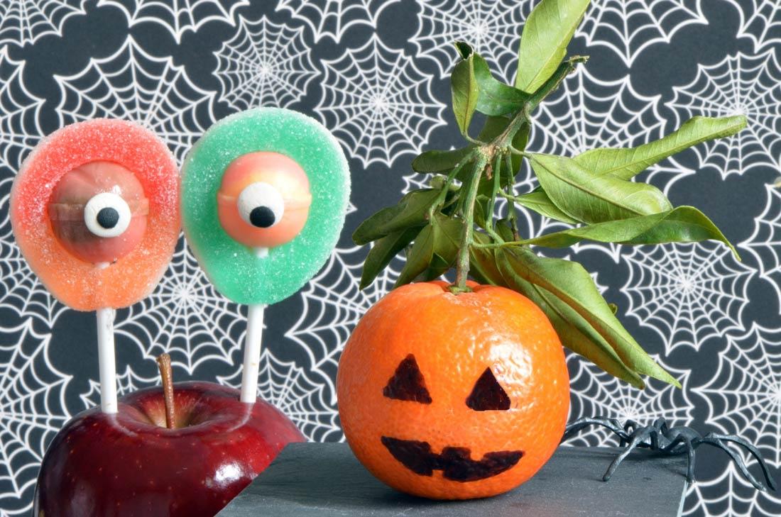 fruits déguisés pour halloween