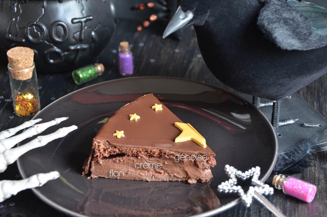 excellent gâteau magique au chocolat