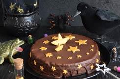 gâteau magique au chocolat pour Halloween