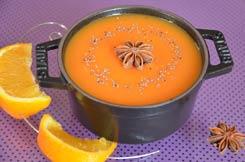 soupe citrouille orange anis étoilé