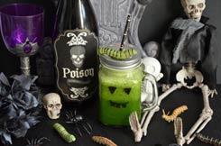 jus détox tonique pour Halloween