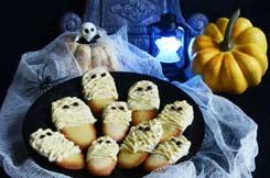 langues de chat momies pour Halloween
