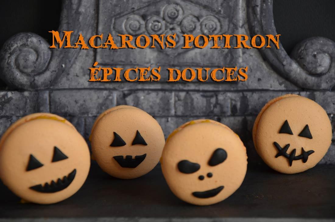 macarons potiron épices douces