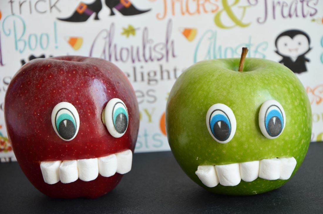 fruitos pommes d'Halloween