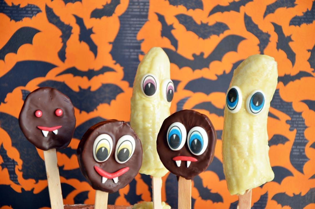 fruitos, les monstres sains et gourmands d'Halloween