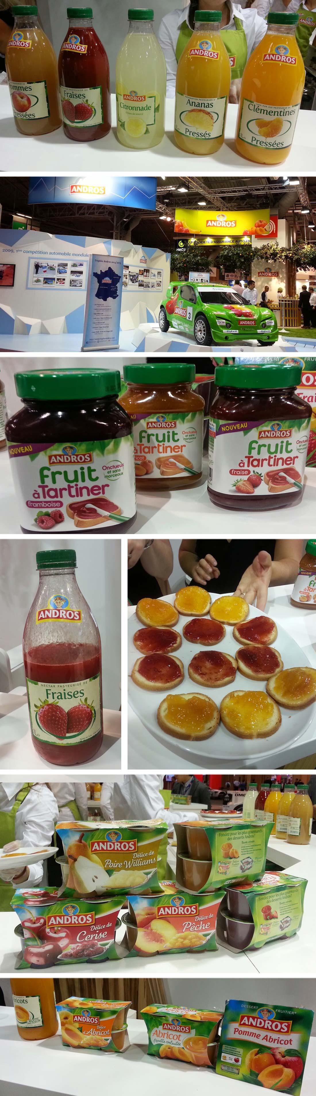 Découvrez la gamme de produits fruités Andros