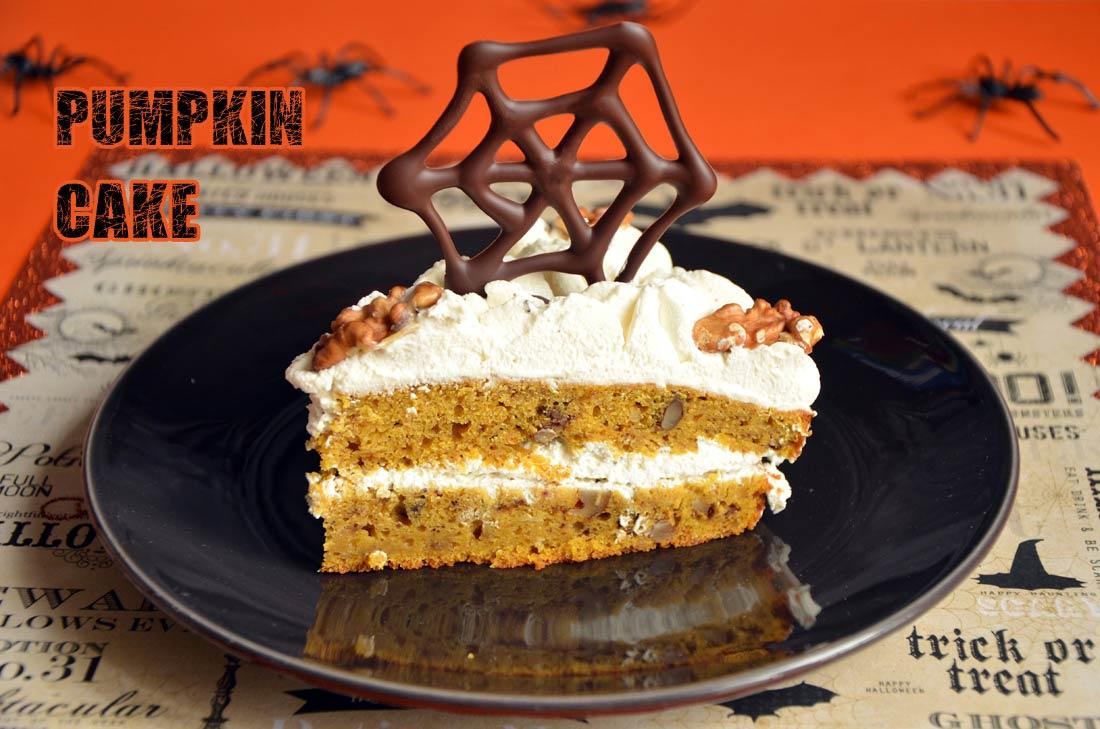 Pumpkin cake g teau au potiron - Cake au potiron sucre ...