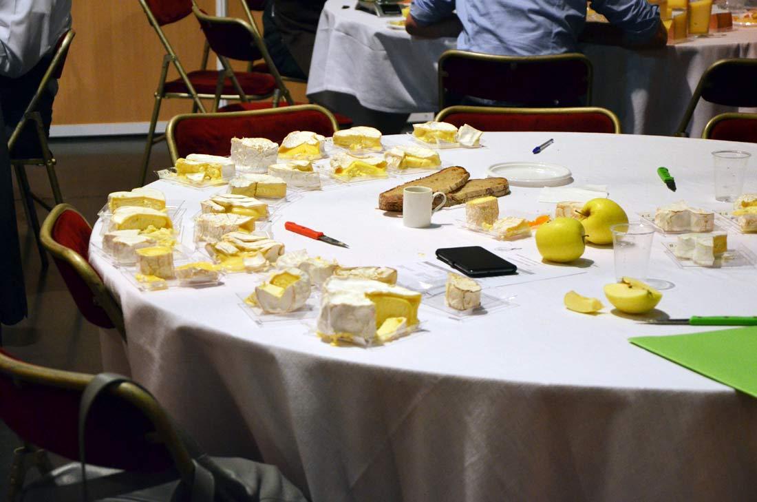 sélection des fromages à Rungis
