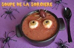 Soupe de la sorcière Halloween