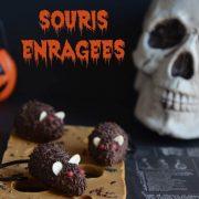 souris enragées d'Halloween
