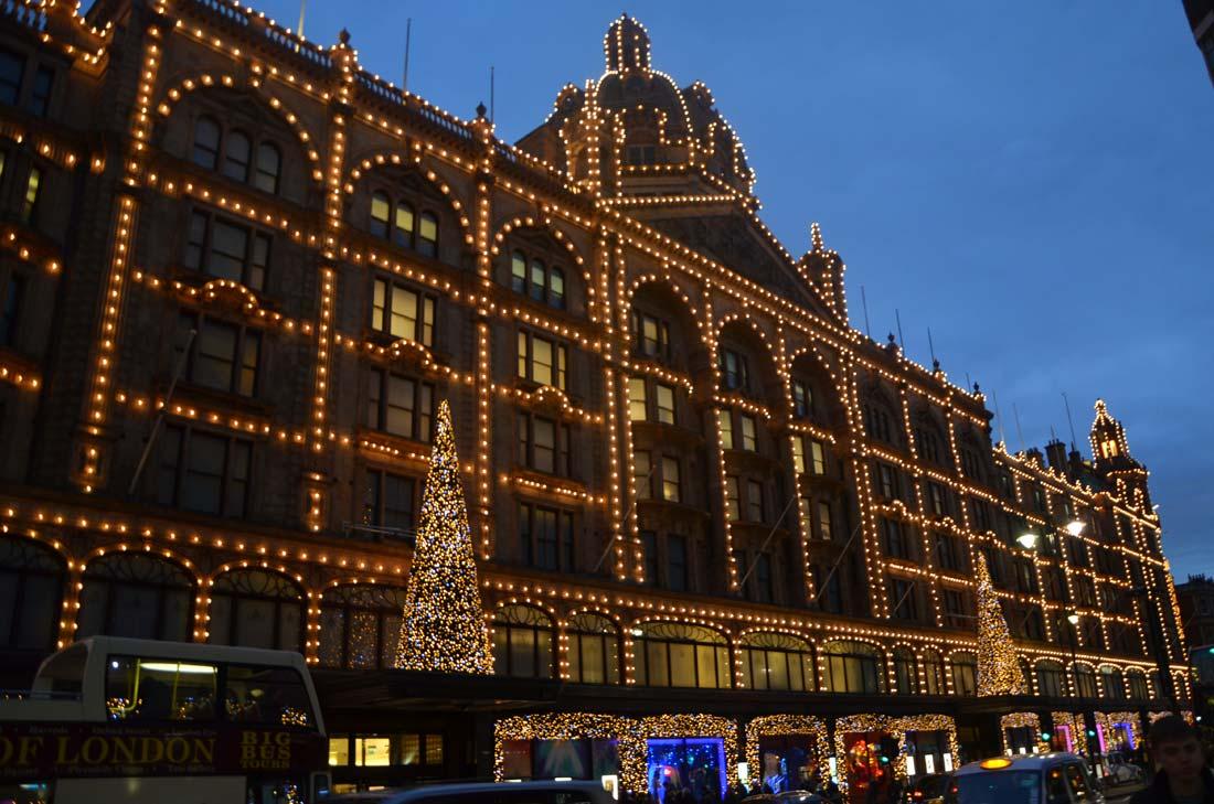 Voyage gourmand à Londres : les vitrines Harrods