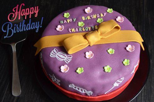 Layer cake saveur Tiramisu {gâteau d'anniversaire}