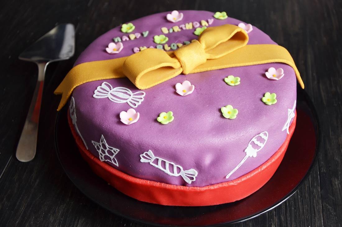Gâteau d'anniversaire saveur Tiramisu