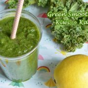 green smoothie kiwi kale