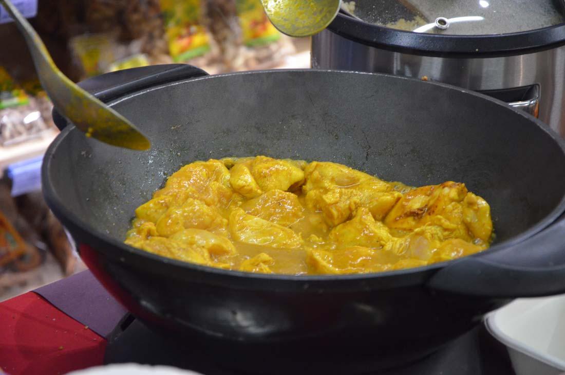 poulet cuisiné chez Naturalia