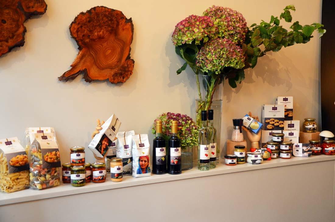 produits Monoprix Gourmet chez David Toutain