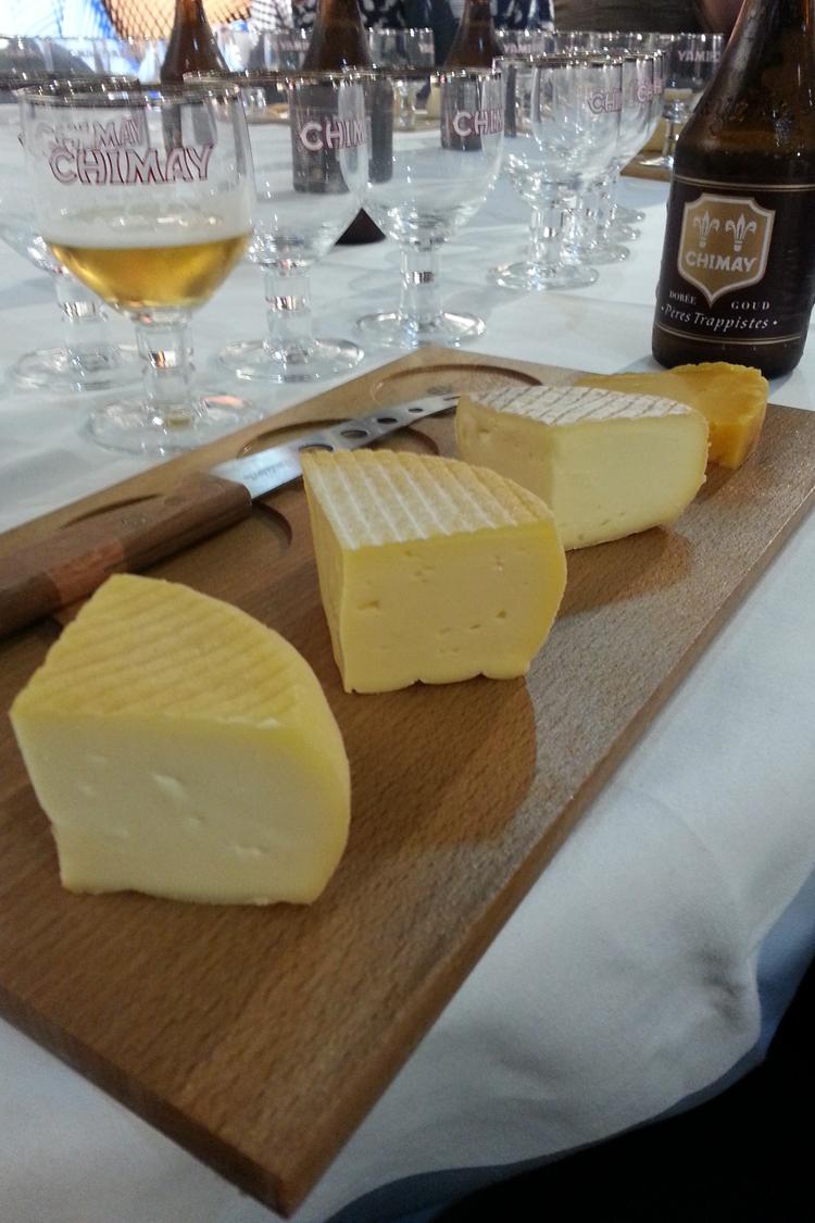soirée Chimay bières et fromages