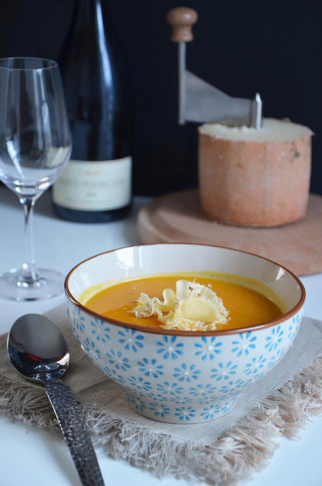 soupe de potimarron au lard