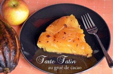 tarte tatin au grué de cacao