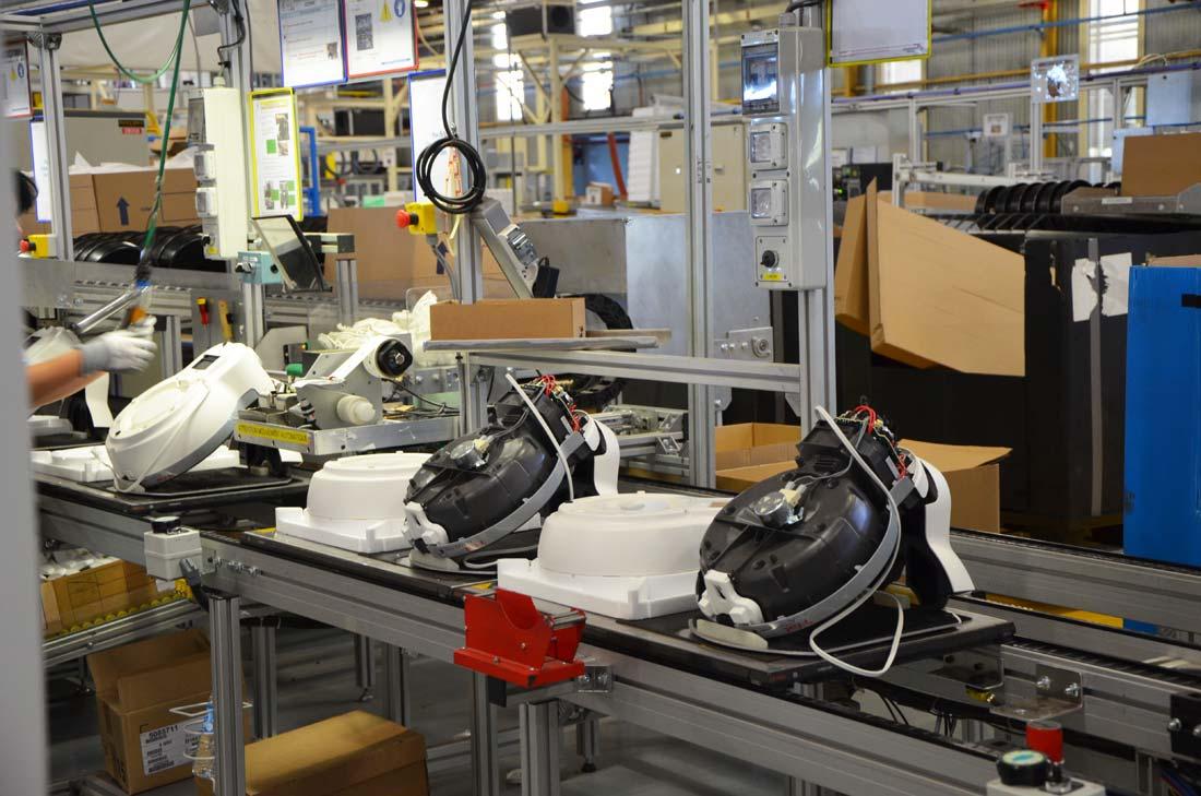 usine de production des Actifry