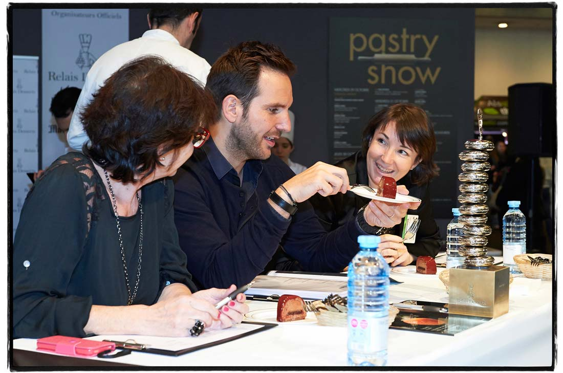 Trophée Relais Desserts Charles Proust 2014 - Sophie Seïté et Christophe Michalak